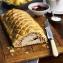 Turkey, Brie and Cranberry Wellington